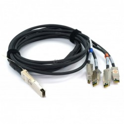 EMC QSFP TO 4X HSSDC CABLE...